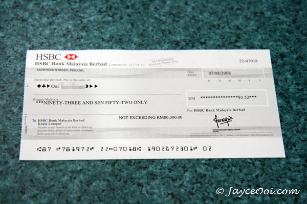 6th NUFFNANG cheque received